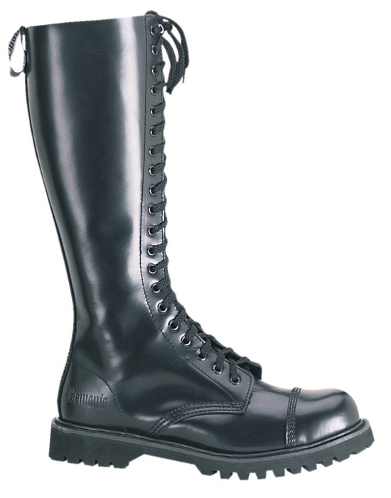 """Rocky"" - Men's Steel Toe Leather Combat Boots"